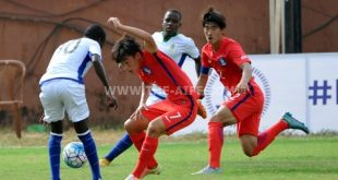AIFF Youth Cup: South Korea play 2-2 draw against Tanzania!