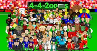 VIDEO – 442oons: Cristiano Ronaldo: Top 10 Cartoons? (Parody songs, goal, highlights montage)