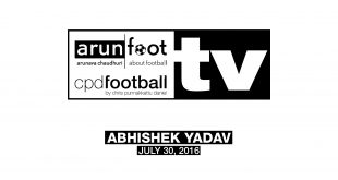 Exclusive VIDEO Interview with Abhishek Yadav (AIFF Head Scout & COO of India U-17 team)!
