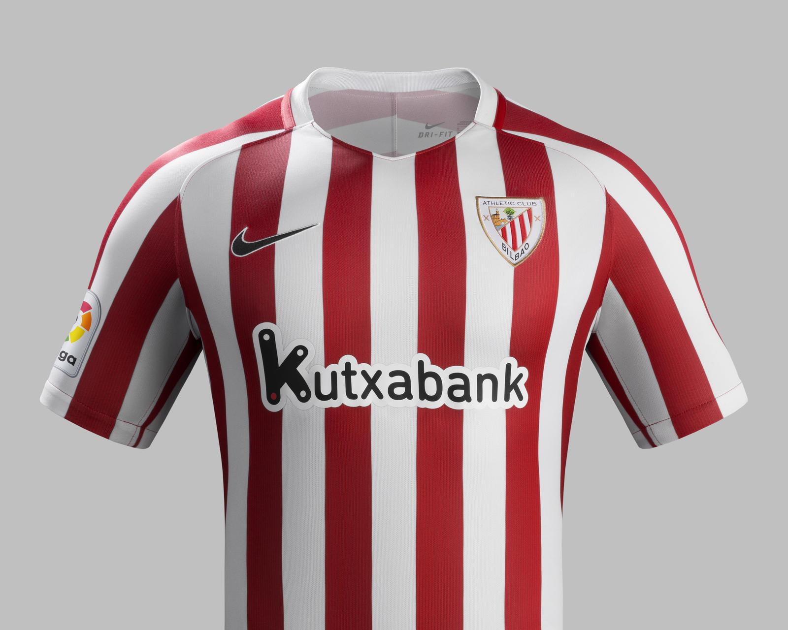 Nike presents Athletic Bilbao's 201617 home & away kits