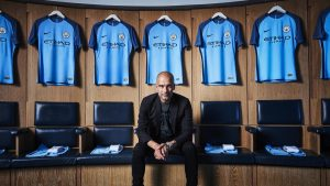 Nike -Manchester City 2016 home kit - Guardiola