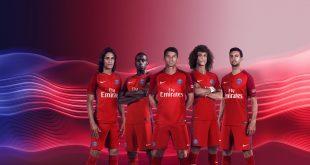 Nike launch Paris Saint-Germain 2016717 Away Kit!