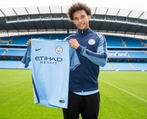 low priced 2cbc9 657cc Manchester City sign Germany's Leroy Sane from Schalke 04 ...