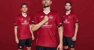 UMBRO reveal the new 1.FC Nürnberg 2016/17 home kit!