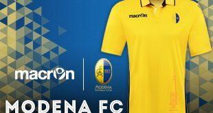 macron & Modena FC present the clubs new 2016/17 home jersey!