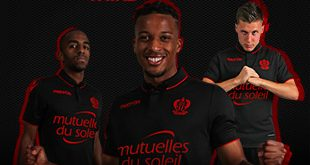 macron present OGC Nice's new third jersey for the 2016/17 season!