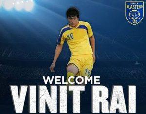Kerala Blasters - Vinit Rai