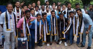 Club Management felicitates Mohammedan Sporting team for CFL runners-up finish