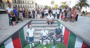 VIDEO: PUMA & FIGC present new Italy away kit through 3d Street Art in Bari!