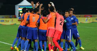 VIDEO: Komal Thatal's goal for India against Brazil in BRICS U-17 Football Cup!