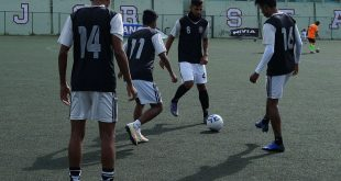 Mohammedan Sporting practice in Gangtok ahead of their Sikkim Governor's Gold Cup opener!