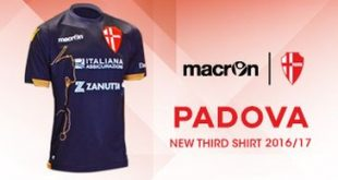 Total Black for the Third Kit presented by macron & Padova Calcio!
