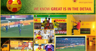DHL successfully completes its third year of association with Indian Super League!