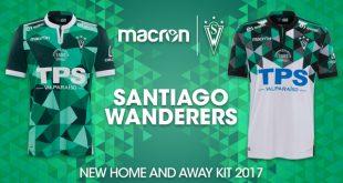 Macron & Santiago Wanderers present the 2017 home & away kits!