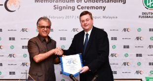 AFC MoU strengthens cooperation between Asia and Germany (DFB)!