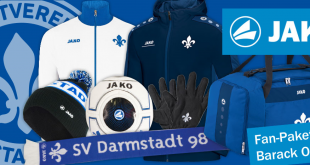 Bundesliga's Darmstadt 98 & JAKO reserve Fan-Pack for former US president Barack Obama!
