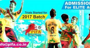 Mumbai's PIFA holding trials for their PIFA Elite Academy 2017!