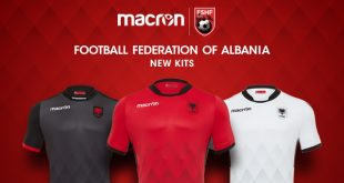 Albania and Macron: a new jersey to fly high as an Eagle!