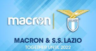 macron & Lazio Roma extend their technical partnership until 2022!