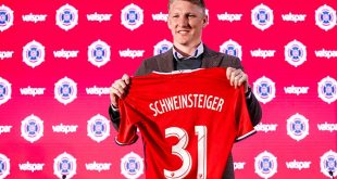 MLS side Chicago Fire introduce new signing FIFA World Cup winner Bastian Schweinsteiger!