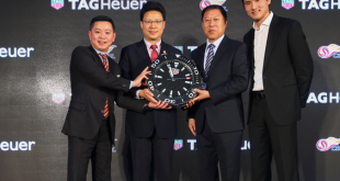 TAG Heuer & the Chinese Super League announce cooperation!