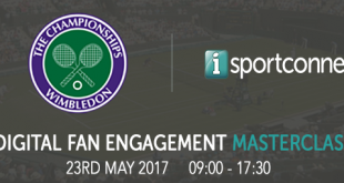 iSportconnect Set For Ace Digital Fan Engagement Masterclass at Wimbledon!
