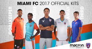Miami FC: The new Macron kits to Live next NASL season as leaders!