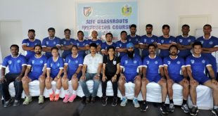 AIFF Grassroots Instructors Course Kicks-Off in Goa!