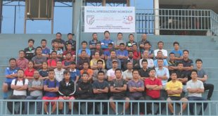 Mizoram Football Association conducts Futsal Introductory Workshop!