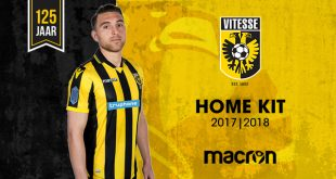 Vitesse Arnhem will wear new Macron home kit in Dutch Cup final!
