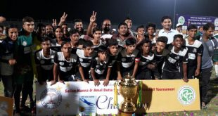 Mohammedan Sporting Club U-17s clinched the title in the Sailen Manna and Amal Dutta Merorial U-17 Football Tournament!
