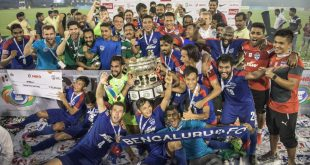 Bengaluru FC players delighted to lift Federation Cup title!