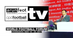 EXCLUSIVE VIDEO Interview with Sunando Dhar (CEO, I-League) at the World Football Forum 2017!
