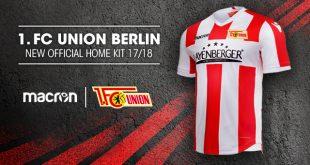 Macron & 1.FC Union Berlin unveil the new 2017/18 home kit!
