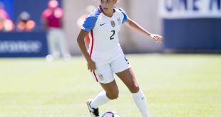 US Soccer Star Mallory Pugh signs with Nike!
