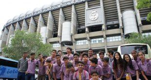 PIFA's Madrid campers watch Real Madrid win at the Santiago Bernabéu!