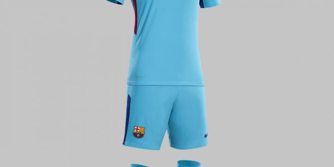 Nike Launch Fc Barcelona S New 2017 18 Away Kit