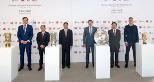 First Chinese-German Football Summit held in Frankfurt!