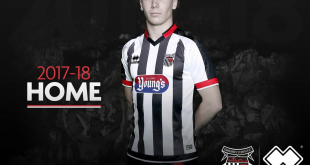 Errea & Grimsby Town FC unveils its new home and away kits for the 2017/18 season!