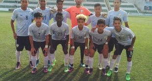 India U-17 boys comprehensively beat Complutense Alcala Academy of Spain 11-0!