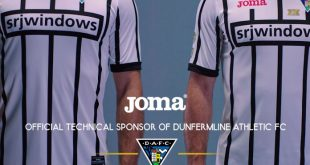 Joma presents the official Dunfermline Athletic FC shirt for the 2017/18 season!