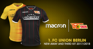 Macron's sporting elegance for 1.FC Union Berlin with the new away & third kits!