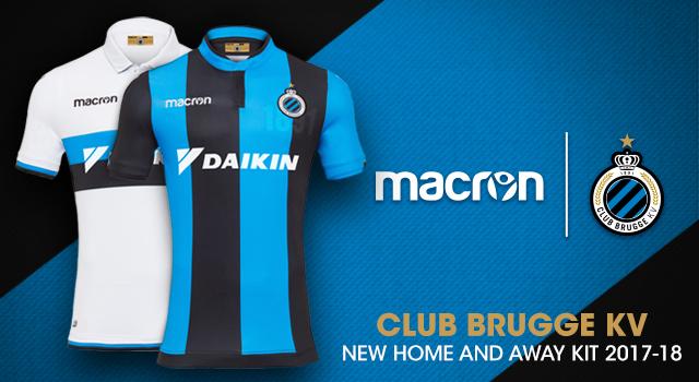 The History Of Club Brugge Kv On Its New Macron Kit