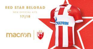 Red Star Belgrad & Macron sign five year partnership deal!