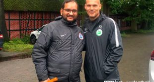 VfL Wolfsburg training camp and meeting Freddie Ljungberg again!