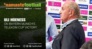 VIDEO – #NamasteFootball: FC Bayern Munich's Uli Hoeness happy with Telekom Cup triumph!