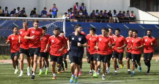 Bengaluru FC kick-off pre-season; fans welcome new-look squad at Bangalore Football Stadium!