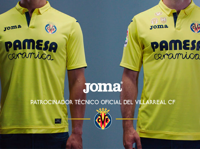 356cf7a07 Joma has created a shirt that preserves the identity of LaLiga side Villarreal  CF using the colour yellow as the main feature.