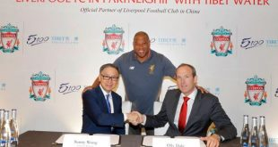 Liverpool FC & Tibet Water announce official partnership!