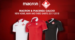 Macron & Piacenza Calcio – A new shirt & new agreement until 2020!